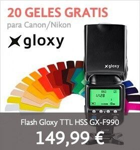 Flash Gloxy HSS TTL GX-F990