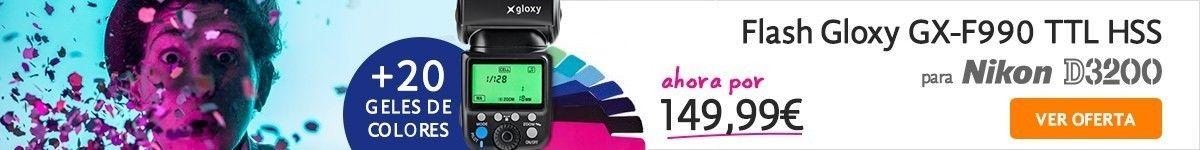 Flash TTL para Nikon D3200