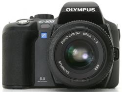 k tarjetas de memoria son compatibles con la olympus e 500