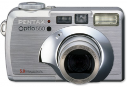 Accessories for Pentax Optio 550
