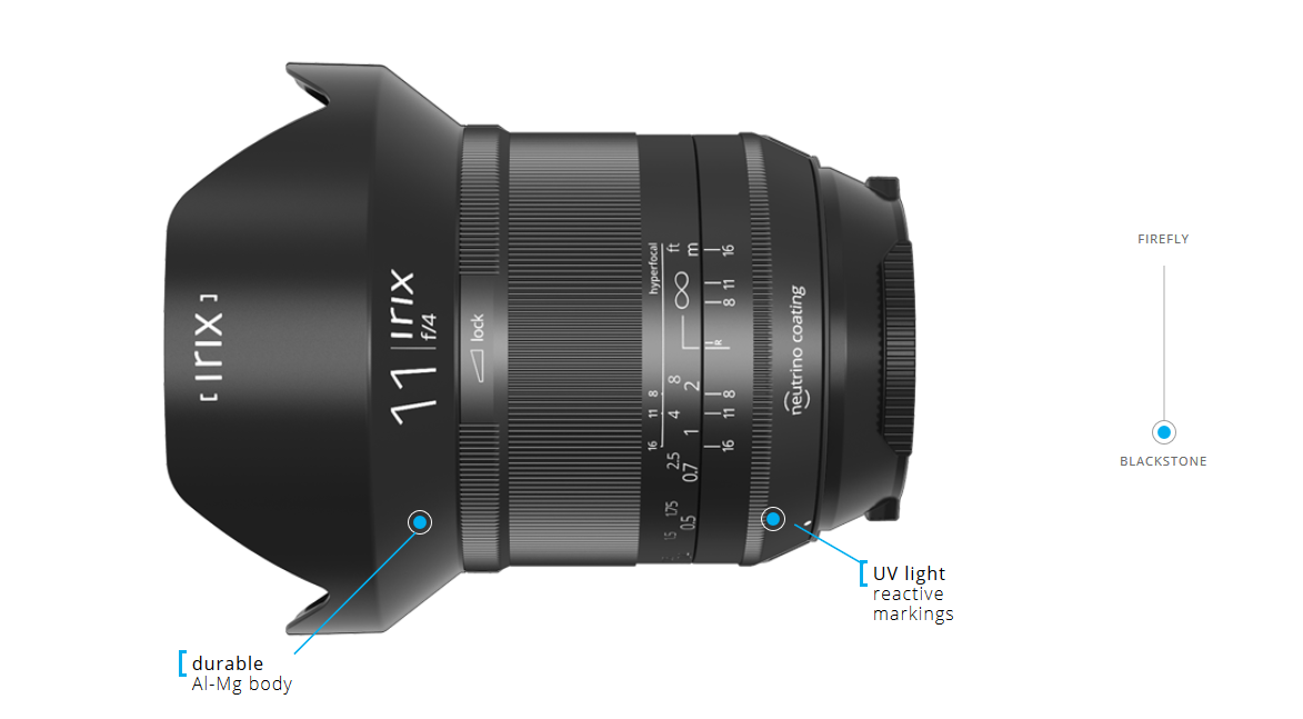 Irix 11mm Blackstone Canon