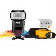 Flash Gloxy GX-F1000 TTL HSS + Modificadores MagMod