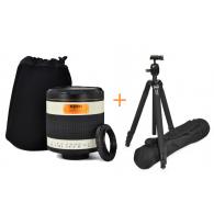 Kit Gloxy 500mm f/6.3 + Trípode GX-T6662A