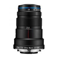 Laowa 25mm f/2.8 2.5-5x Ultra-Macro Pentax