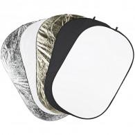 Reflector plegable 5 en 1 Quadralite 90x120cm