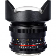 Objetivo Samyang 14 mm V-DSLR T3.1 ED AS UMC MKII Canon