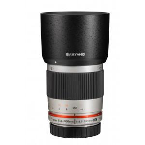 Samyang 300mm f/6.3 ED UMC CS Sony E Plateado