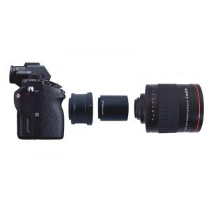Gloxy 900-1800mm f/8.0 Teleobjetivo Mirror + Duplicador 2x