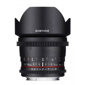 Samyang 10mm T3.1 V-DSLR Micro 4/3