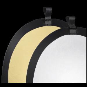 Reflector plegable Walimex Oro / Plateado Ø56cm