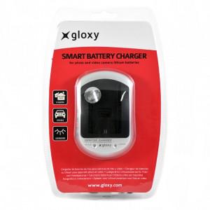 Cargador Panasonic DE-A99B Compatible 2 en 1 Casa y Coche