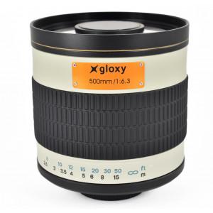 Teleobjetivo Sony A Gloxy 500mm f/6.3 Mirror