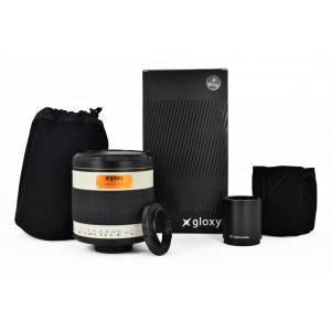Teleobjetivo Micro 4/3 Gloxy 500-1000mm f/6.3 Mirror
