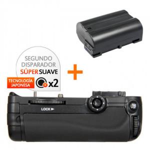 Kit de Empuñadura Gloxy GX-D11 + Batería EN-EL15