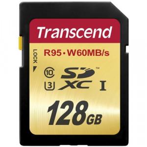 Memoria SDXC Transcend 128GB Clase 10 UHS-I Speed