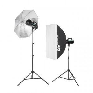 Kit de iluminación estudio Quadralite Move 300