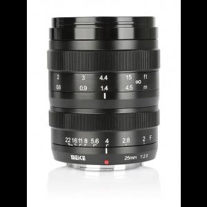 Objetivo Meike 25mm f/2.0 MK Fuji X