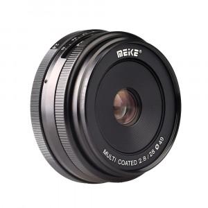 Objetivo Meike 28mm f/2.8 para Sony E