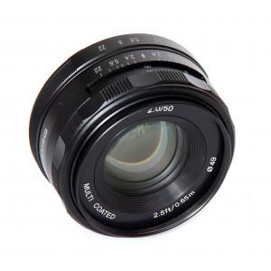 Meike 50mm f/2.0 para Canon EF-M