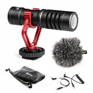 Micrófono Shotgun Boya BY-MM1