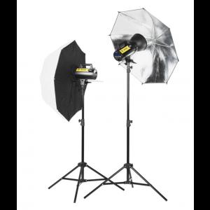 Quadralite Move X 200 Kit de iluminación de estudio