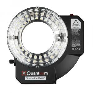 Flash anular Quadralite Rx400