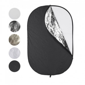 Reflector Plegable 5 en 1 Quadralite 120x180cm