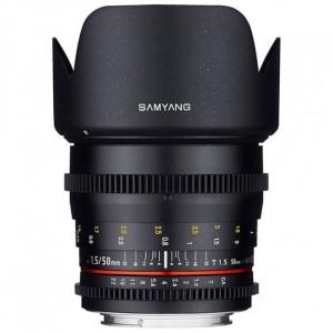Objetivo Samyang 50mm T1.5 VDSLR Sony A