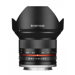 Objetivo Samyang 12mm f2.0 NCS CS Sony E Negro