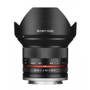 Objetivo Samyang 12mm f/2.0 NSC MFT Negro
