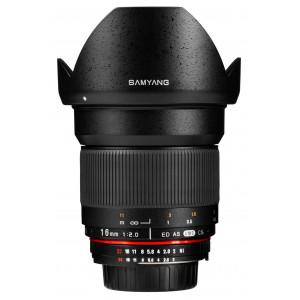 Objetivo Samyang 16mm f/2.0 ED AS UMC CS Nikon AE