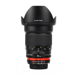 Objetivo Samyang 35mm f/1.4 AS UMC Gran Angular Sony E