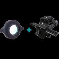 Kit Macrophotographie Rail FC-1II + Lentille DCR-250