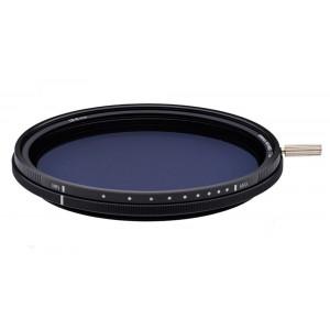Filtre Densité Neutre Variable ND2-ND400 + CPL Gloxy