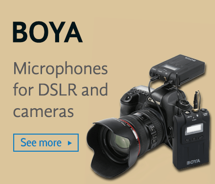 Boya Microphones for DSLR