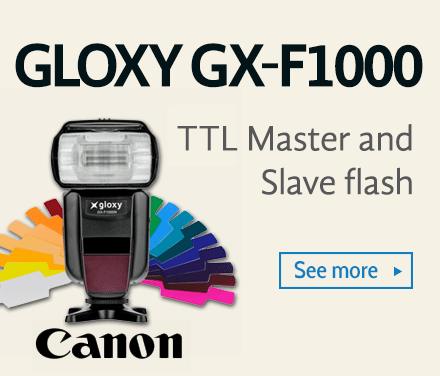 Gloxy GX-F1000C Flash for Canon