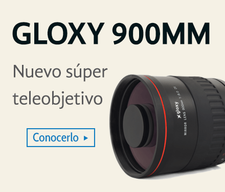 Gloxy 900mm Teleobjetivo
