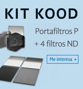 Portafiltros p y 4 filtros