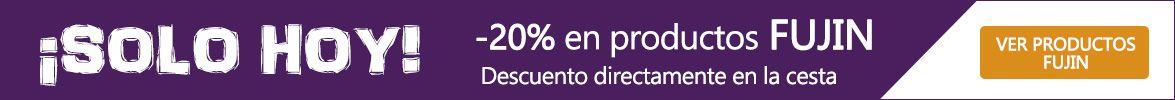 20% de descuento en Fujin