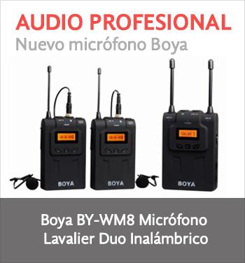 Micrófono Duo Lavalier Inalámbrico