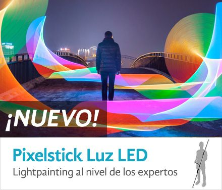 Pixelstick Luz LED para lightpainting