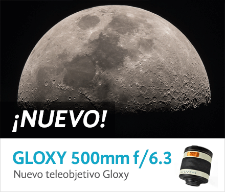 Teleobjetivo Gloxy 500mm