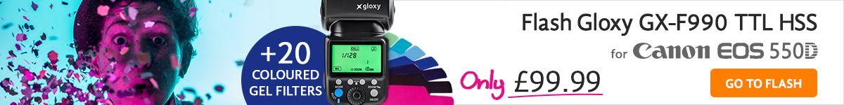 Flash TTL pour Canon 550D