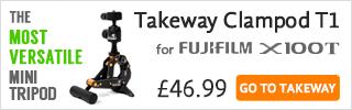 Takeway T1 for Fujifilm X100T