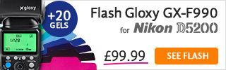 Flash TTL for Nikon D5200