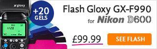 Flash TTL for Nikon D600
