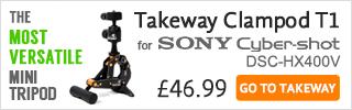 Takeway T1 for Sony DSC-HX400V