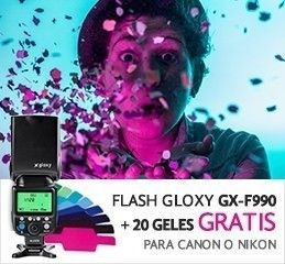 Flash Gloxy GX-F990