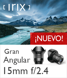 Objetivo Gran Angular 15mm Irix