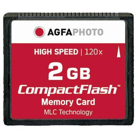 AgfaPhoto 2GB 120x MLC Compact Flash Memory Card